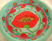 art plate flowers in boston