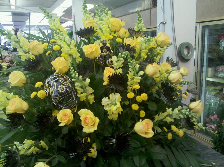 Bruins Flowers