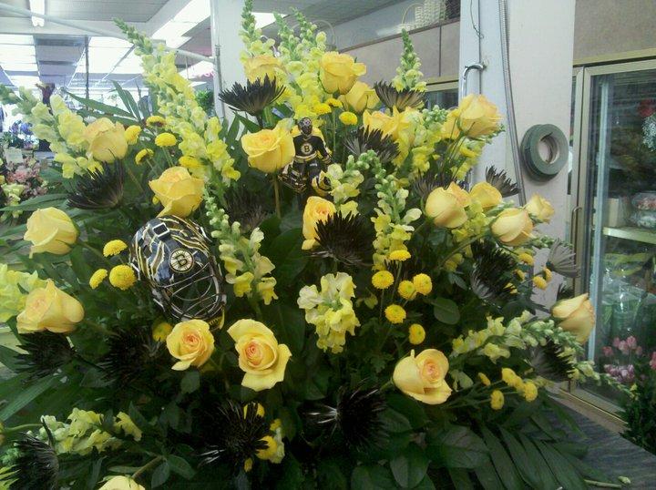 Bruins Flowers