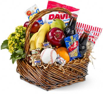 Baseball gift basket Boston