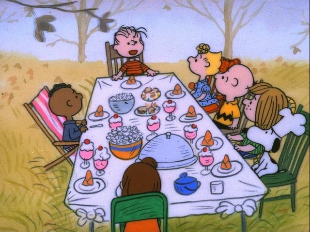 Charlie Brown Celebrates Thanksgiving