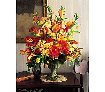 Thanksgiving Foyer Flowers