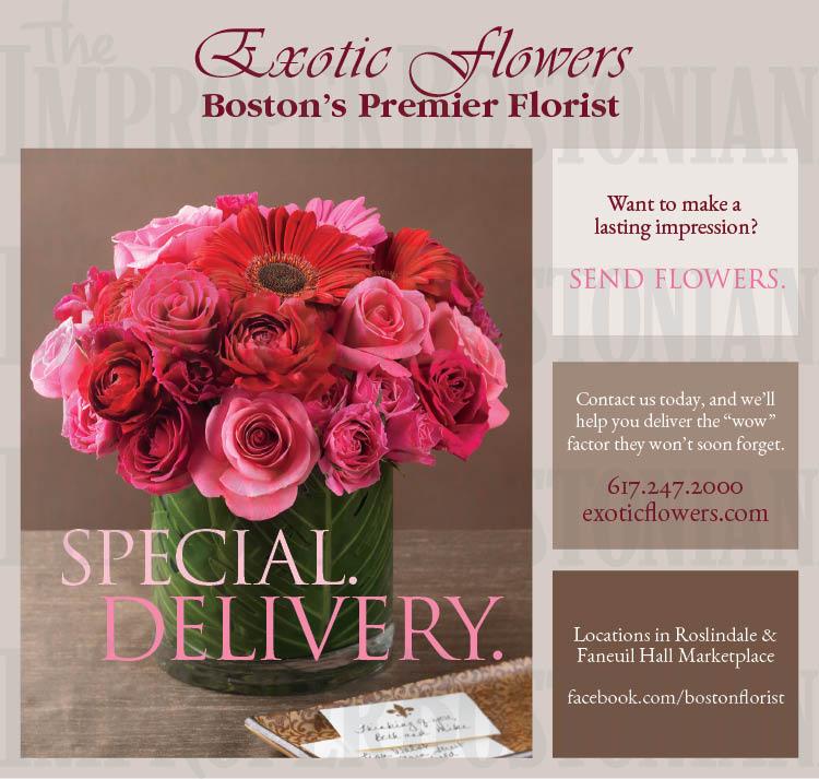 Exotic Flowers Improper Bostonian