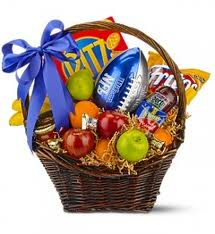 Superbowl gift basket