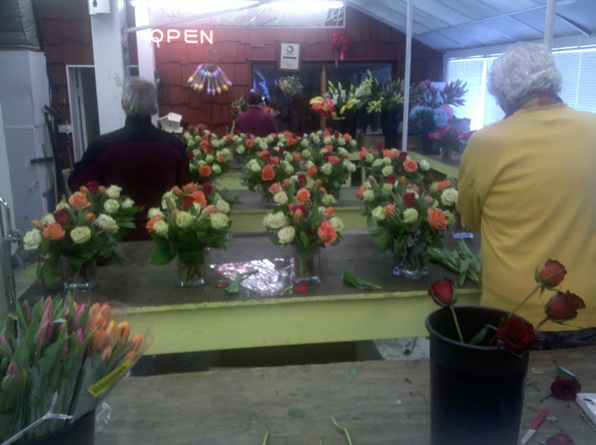 Floral design training in Boston