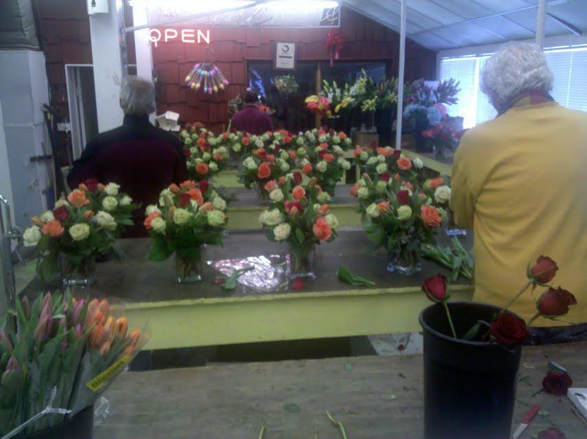 Floral design training in Boston