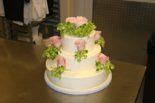 wedding cake flowers in boston
