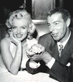 DiMaggio and Marilyn