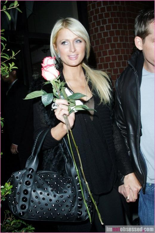 Paris Hilton and Roses