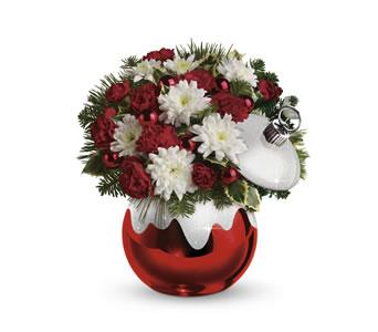 Radko Boston Christmas Flowers