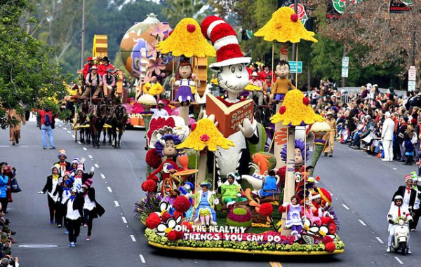 Dr Seuss Rose Parade