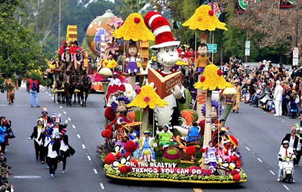 Dr Seuss Rose Parade