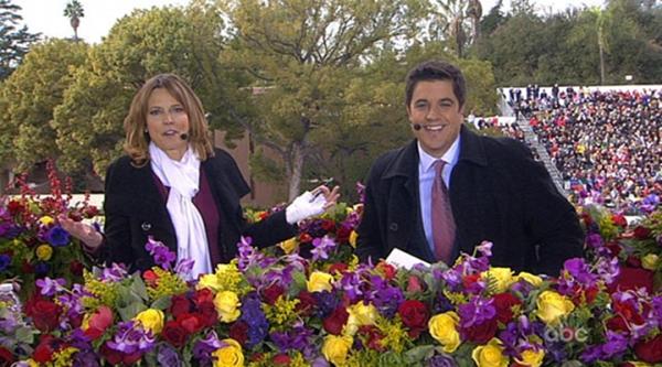 flowers on tv