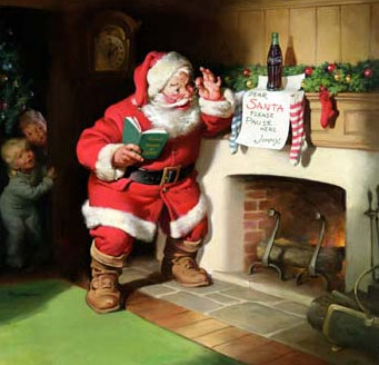 Santa Claus Boston