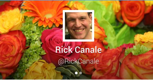 Rick Canale Twitter Boston Florist