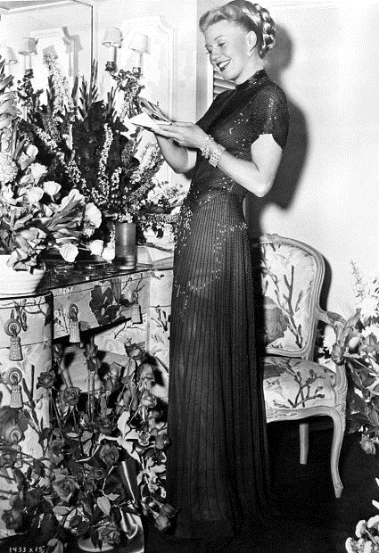Ginger Rogers flowers