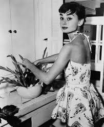 Audrey Hepburn Flower Design
