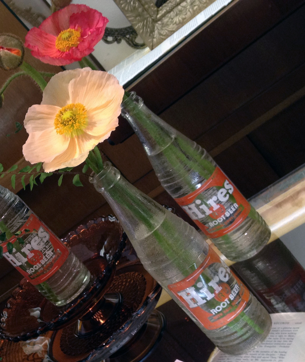 root beer bottle vases