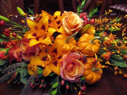 Thanksgiving Flowers Boston