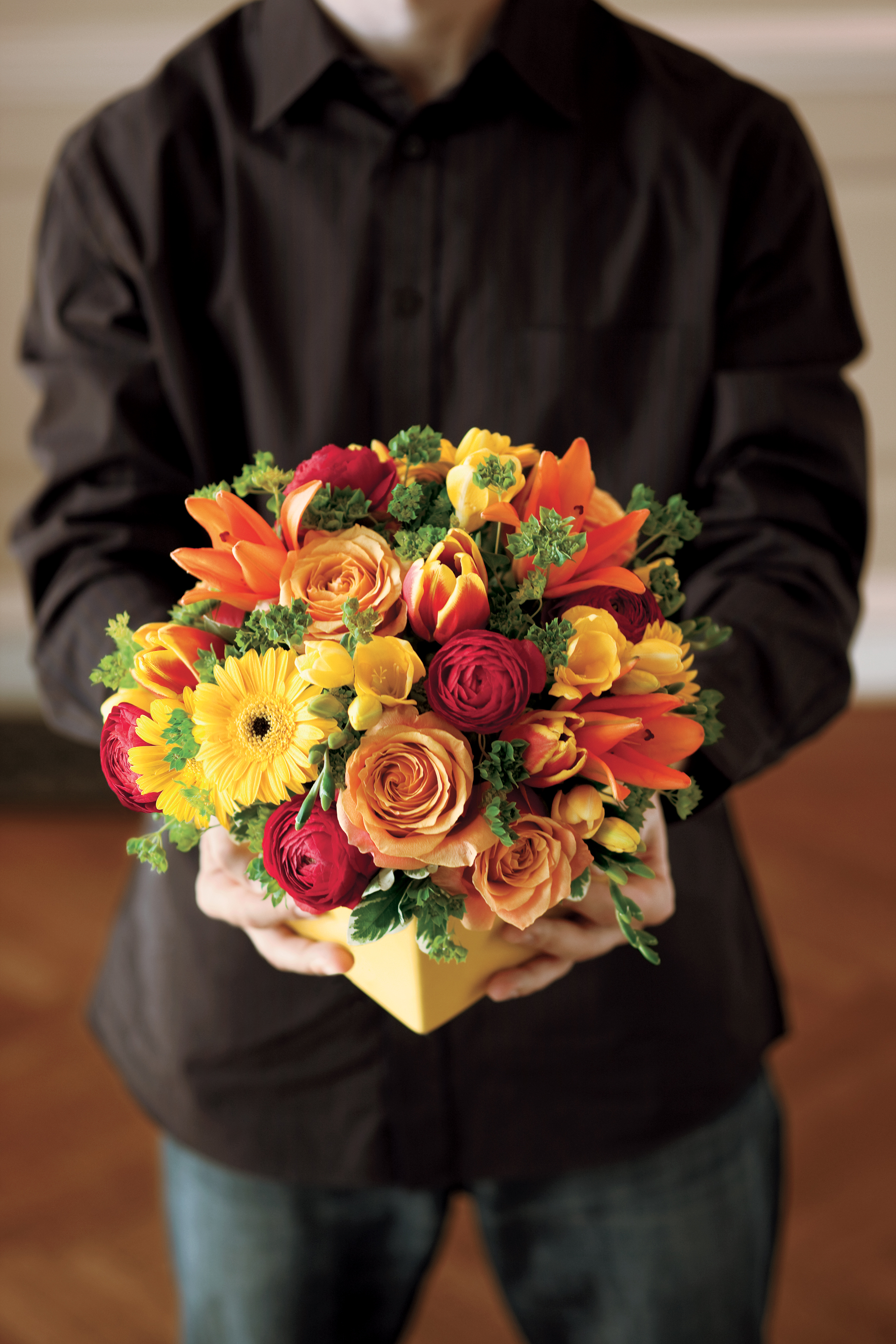 thanksgiving hostess flowers