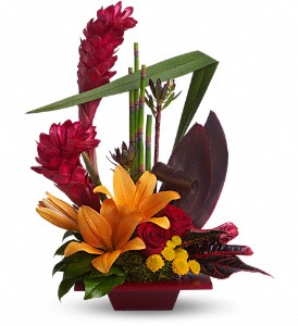 EXOTIC FLOWER ARRANGEMENT resized 600