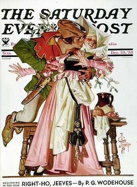 stealing-a-christmas-kiss-jc-leyendecker