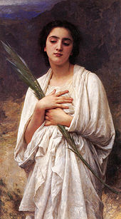 170px-William-Adolphe_Bouguereau_1825-1905_-_The_Palm_Leaf_Unknown