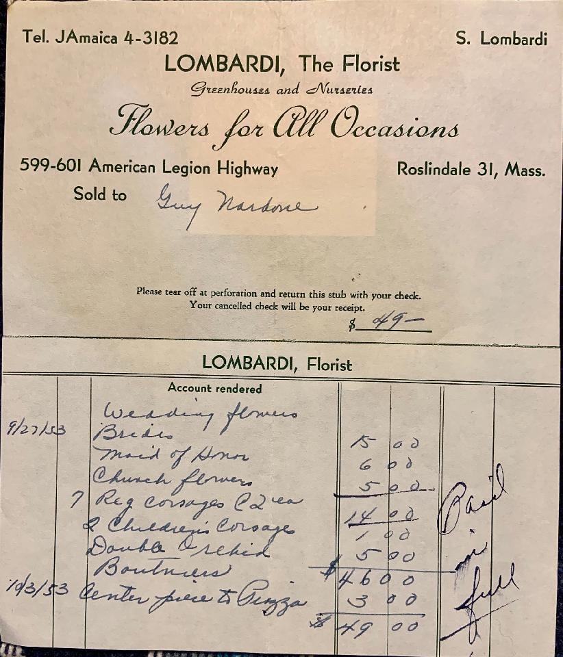 Lombardi Florist in Roslindale