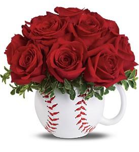 baseball flowers-1