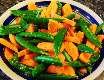 garlicky_sweet_potatoes_and_sugar_snaps
