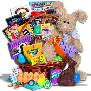 How to make a fun easter basket easter basket negle Gallery